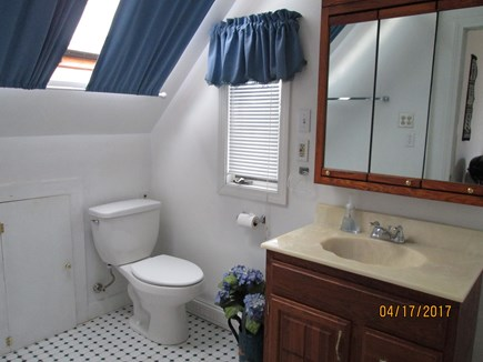 Sandwich, East Sandwich Beach Cape Cod vacation rental - Bath with shower, skylight