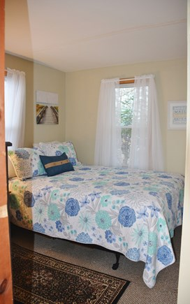 Mashpee Cape Cod vacation rental - Bedroom 1 - off the kitchen. Sleeps two on new queen bed.
