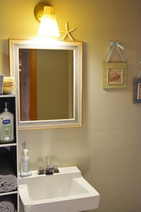 Mashpee Cape Cod vacation rental - Bathroom with shower.  There is also an outdoor shower.