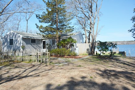 Mashpee Cape Cod vacation rental - Front of Cottage