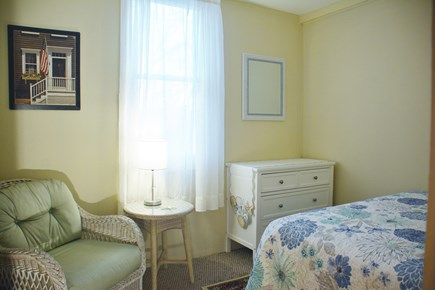 Mashpee Cape Cod vacation rental - Bedroom 2 - middle room. Sleeps two on new queen bed.