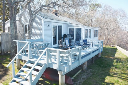 Mashpee Cape Cod vacation rental - Rear of Cottage