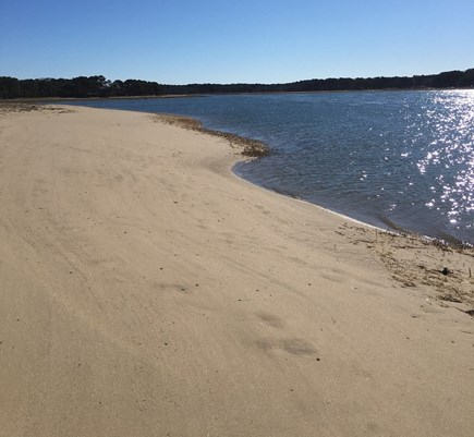 Wellfleet Cape Cod vacation rental - Pleasant Point Neighborhood beach less than 2/10 mile away!