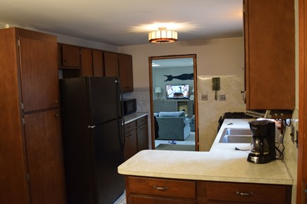 Wellfleet Cape Cod vacation rental - Kitchen facing into large Family room