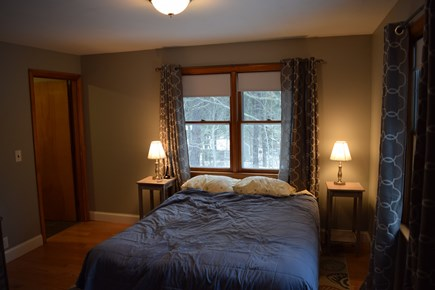 Wellfleet Cape Cod vacation rental - Master Bedroom and Bathroom