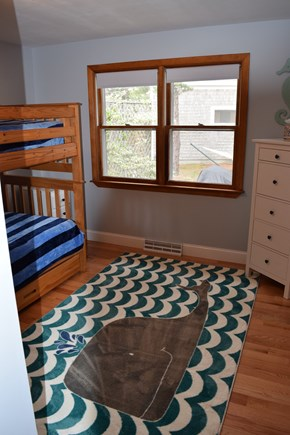 Wellfleet Cape Cod vacation rental - Bunk Bed Room with Trundle bed