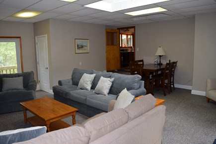 Wellfleet Cape Cod vacation rental - Over sized Family Room leading into Kitchen