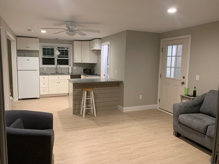 Wellfleet Cape Cod vacation rental - Guest House living room/Kitchenette