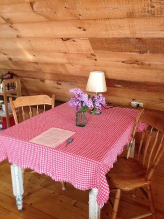 Truro Cape Cod vacation rental - Dine in