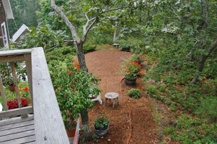 Truro Cape Cod vacation rental - View from studio deck