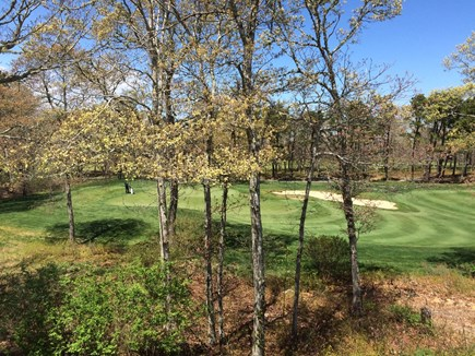 Brewster Cape Cod vacation rental - View of the golf course from the deck