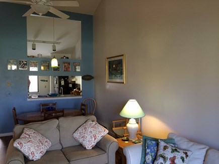 Brewster Cape Cod vacation rental - View from living area to dining area and kitchen