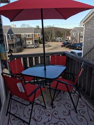 Provincetown Cape Cod vacation rental - Deck provides additional dining and living space.