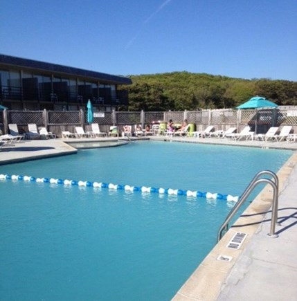 Provincetown Cape Cod vacation rental - Next door: refreshing pool at Harbor Hotel - open to all!