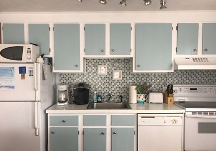 Provincetown Cape Cod vacation rental - Kitchen provides everything needed to cook in....or order takeout