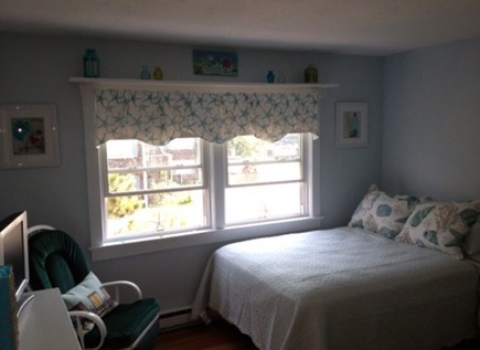 Provincetown Cape Cod vacation rental - Middle bedroom with full & twin beds