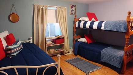 Harwich Cape Cod vacation rental - Bedroom with bunk beds