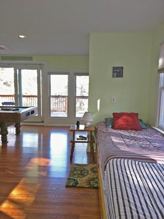 Harwich Cape Cod vacation rental - Two twin beds built in