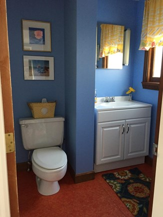 Falmouth, Teaticket Cape Cod vacation rental - Full bath (tub/shower not pictured). Outdoor shower as well.
