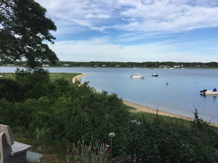 Falmouth, Teaticket Cape Cod vacation rental - This Great Bay beach is three houses away, Bristol Beach 1/2 mile