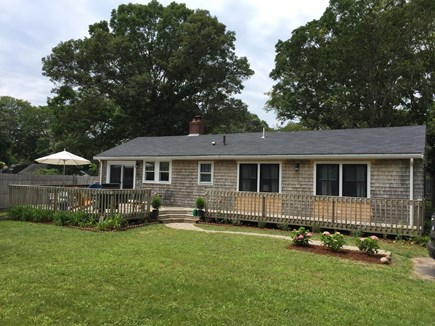 Falmouth, Teaticket Cape Cod vacation rental - Picture your cookouts. Food and fish markets are close by.