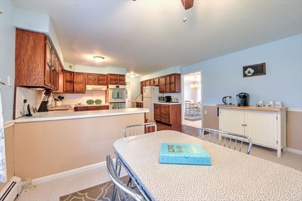 South Yarmouth Cape Cod vacation rental - Dining to kitchen
