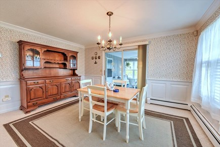 South Yarmouth Cape Cod vacation rental - Dining area