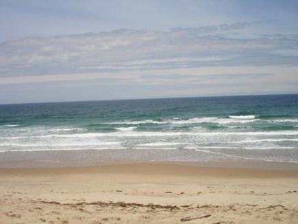 Wellfleet Cape Cod vacation rental - Ocean beach up street