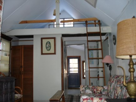 Wellfleet Cape Cod vacation rental - Single bed sleeping loft in living area