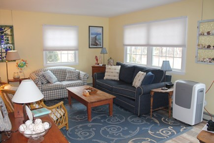 Eastham Cape Cod vacation rental - Living room with A/C