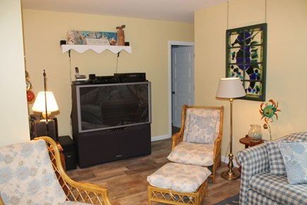Eastham Cape Cod vacation rental - TV with cable, DVR and VHS