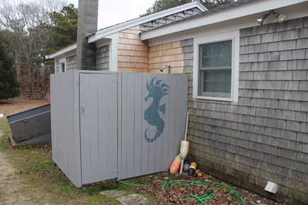 Eastham Cape Cod vacation rental - Private outdoor shower