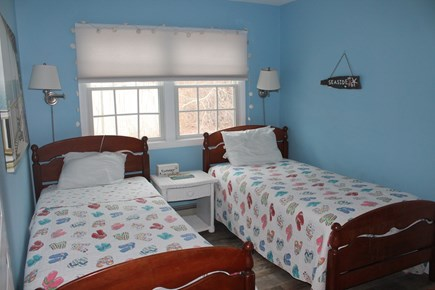 Eastham Cape Cod vacation rental - Bedroom 2 with two twins