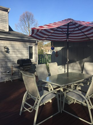 West Yarmouth Cape Cod vacation rental - Grill, outdoor eating,enjoyment of sun and ocean breezes