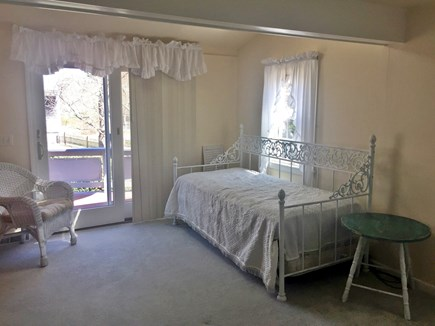 West Yarmouth Cape Cod vacation rental - Captains room queen bed and daybed with trundle, beachy