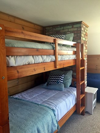 West Yarmouth Cape Cod vacation rental - Crew members room, 2 bunkbeds (sleep 4), 1queen for guest comfort