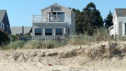 Dennisport Cape Cod vacation rental - The second story deck overlooks Nantucket Sound.