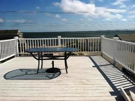 Dennisport Cape Cod vacation rental - Ocean view from the second story deck.