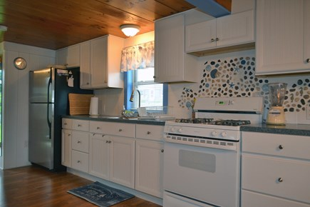 Dennisport Cape Cod vacation rental - Recently remodeled kitchen.