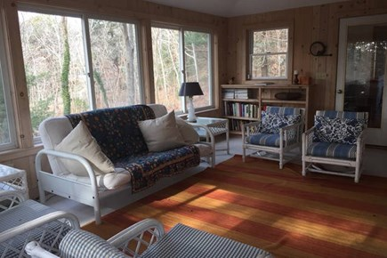 Truro Cape Cod vacation rental - Sunroom