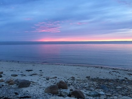 Falmouth Cape Cod vacation rental - Sunset