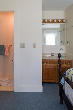 Chatham Cape Cod vacation rental - Second floor bedroom and bathroom
