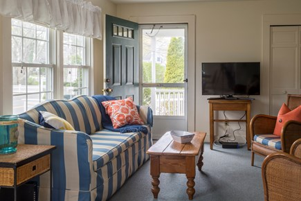 Chatham Cape Cod vacation rental - Living room with a flat screen television
