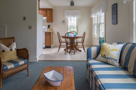 Chatham Cape Cod vacation rental - Living room looking over to the dining area