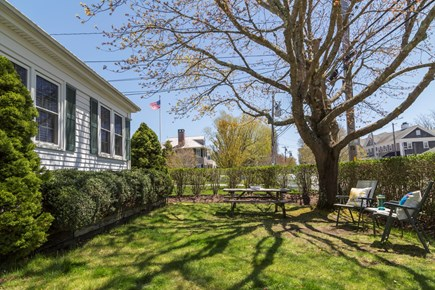 Chatham Cape Cod vacation rental - Front yard with outside furniture