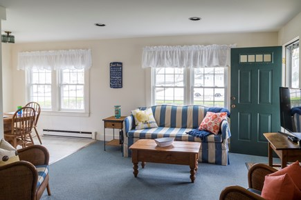 Chatham Cape Cod vacation rental - Living room that overlooks Main Street