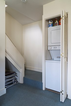 Chatham Cape Cod vacation rental - Laundry and stairs to the second floor