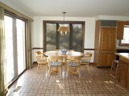 East Dennis Cape Cod vacation rental - Kitchen dining area