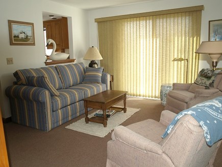 East Dennis Cape Cod vacation rental - Family room off kitchen