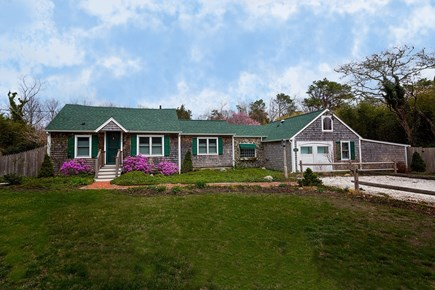Brewster Cape Cod vacation rental - 1920's Iconic Cape naturally landscaped as a wildlife refuge.